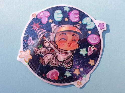 Space TEEMO Stickers