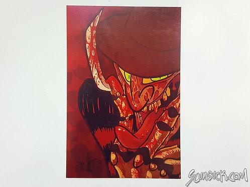 Freddy Valentines textless print (4x6)