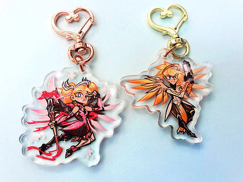 Mercy Acrylic Charms
