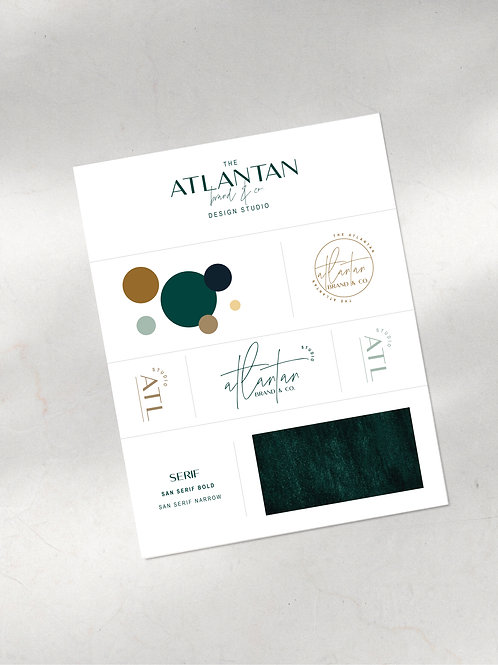 Atlantan Semi Custom Branding Kit