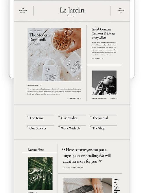 Buckhead Wix Website Template
