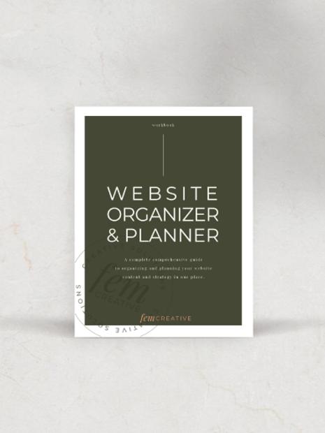 Website Planner & Organizer