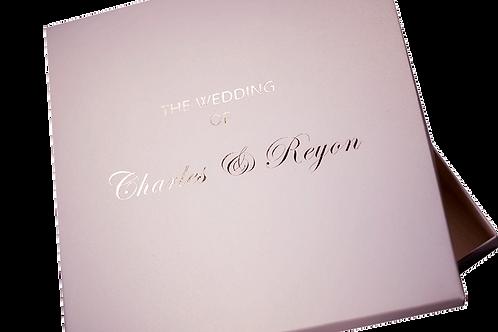 Boxed Wedding Invitations Blush