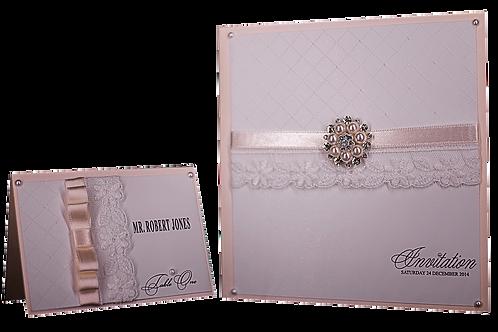 Vintage Lace Wedding Invitations, Romantic Princess