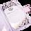 Thumbnail: Luxury Silk Folio with Crystal Embellishment Sofia