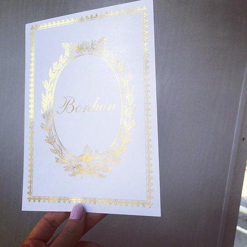 Laduree Wedding Table Numbers
