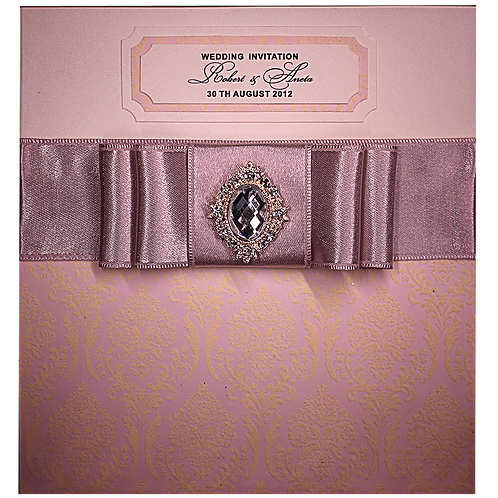Luxury Wedding Invitations, Velvet Printed