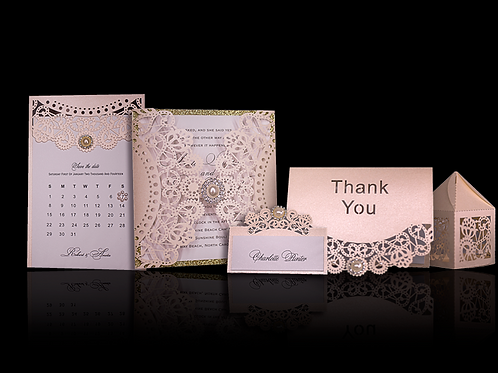 Laser Cut Wedding Invitations Sydney