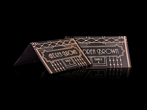 Art Deco Place Cards