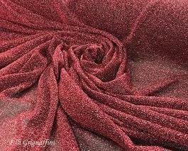 Maglia metallica rosso col 12