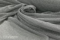 Maglia metallica bianco argento col 6