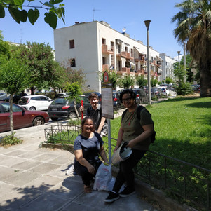Where are we walking? Dourgouti Neighborhood