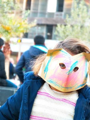 Οmonia in the spirit of the carnival.