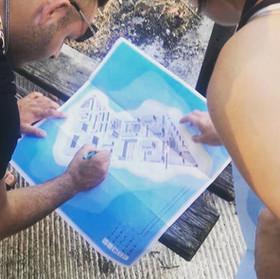 Αισθητηριακή χαρτογράφηση της πόλης σε μάθημα αγγλικών για πρόσφυγες