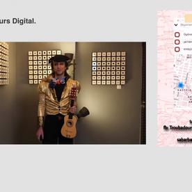 Unboxing Troubadours # 2: A Troubadour Seeks for Lyrics and Inspiration