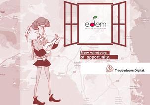 Συνεργασία Troubadours Digital και ΕΔΕΜ