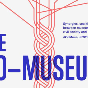 """Presenting an idea for synergies in 2019 at the """"Co-Museum"""" Conference"""