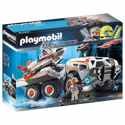 PLAYMOBIL CAMION TOP AGENTS 9255