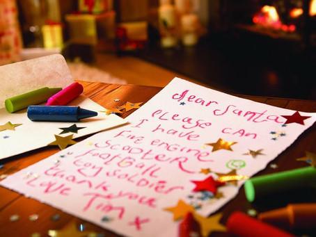 Carta para Papá Noel y Los Reyes Magos