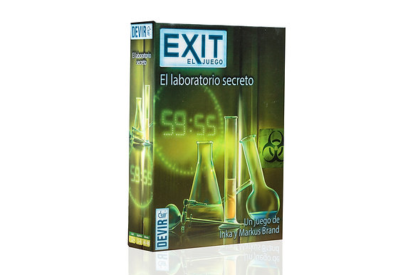 EXIT 3: EL LABORATORIO SECRETO
