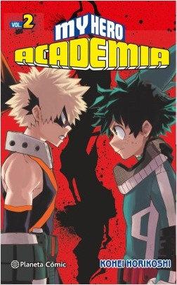 MY HERO ACADEMIA VOLUMEN 2