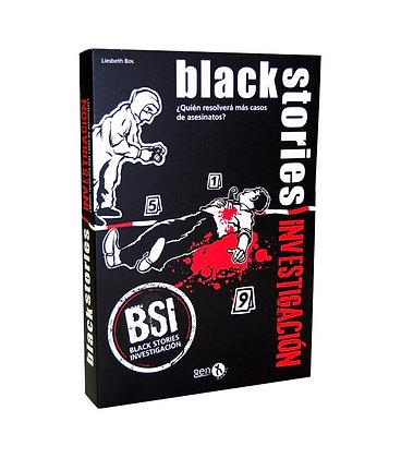 BLACK STORIES INVESTIGACION