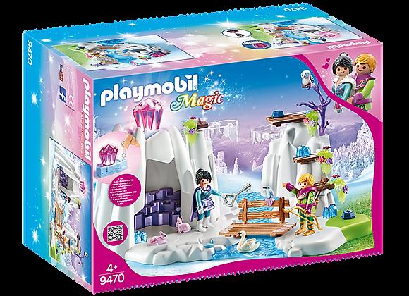 PLAYMOBIL BÚSQUEDA DEL DIAMANTE DE CRISTAL 9470