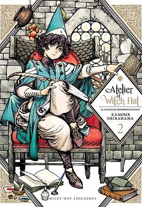 ATELIER OF WITCH HAT VOLUMEN 2