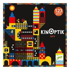 CONSTRUCCION KINOPTIK CIUDAD 123 PIEZAS