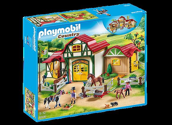 PLAYMOBIL GRANJA DE CABALLOS 6929