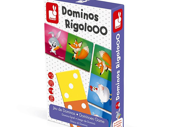 """JUEGO DE DOMINO """"DOMINOS RIGOLOOO"""""""