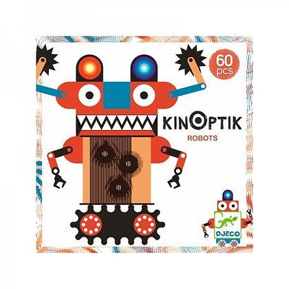 CONSTRUCCION KINOPTIK ROBOTS 60 PIEZAS