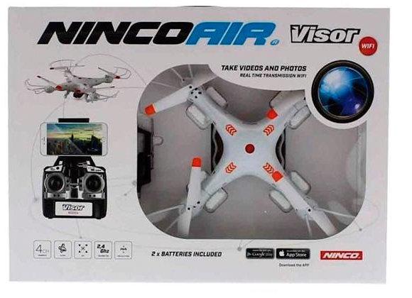 DRONE NINCOAIR QUADRONE VISOR WIFI HA (2 BAT)