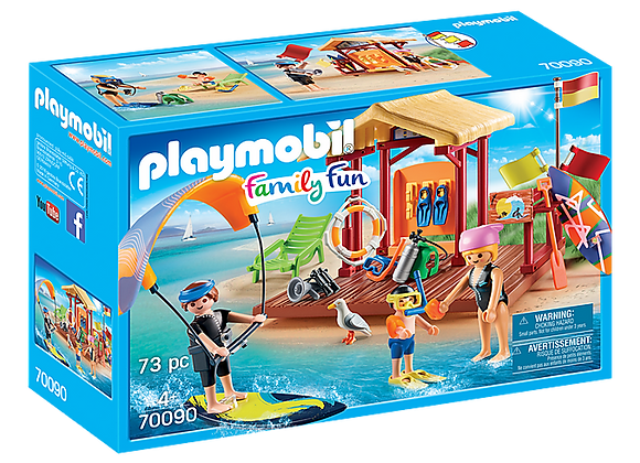 PLAYMOBIL CLASE DEPORTES DE AGUA 70090