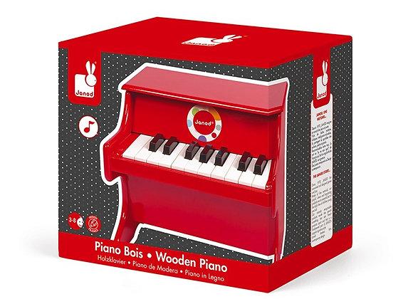 PIANO ROJO CONFETI (MADERA)