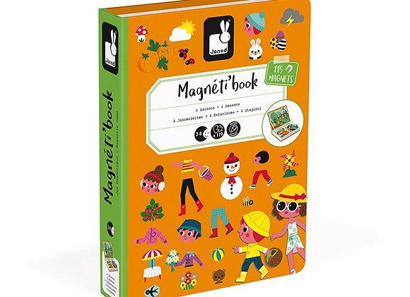 MAGNETI'BOOK 4 ESTACIONES