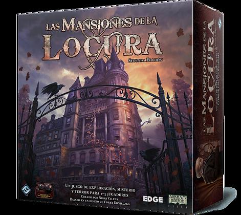 LAS MANSIONES DE LA LOCURA  (SEGUNDA EDICION)