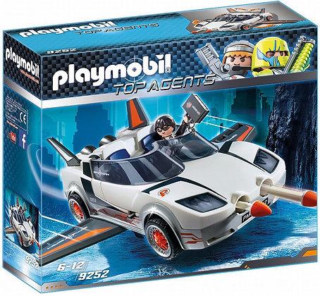 PLAYMOBIL AGENTE SECRETO Y RACER 9252