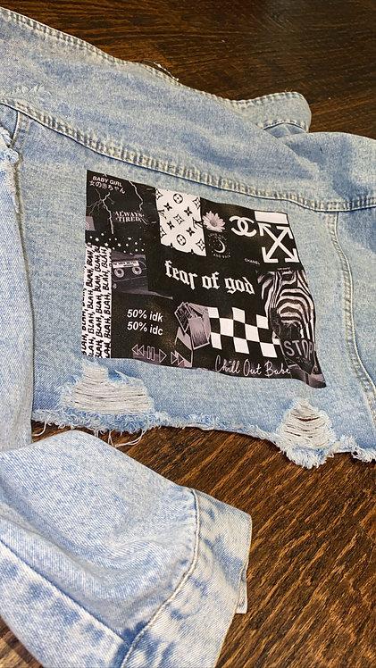Fear Of God Blue Denim Jacket