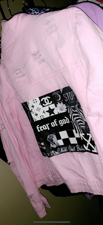 Fear Of God Pink Jacket