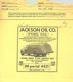 1950's Advertisement