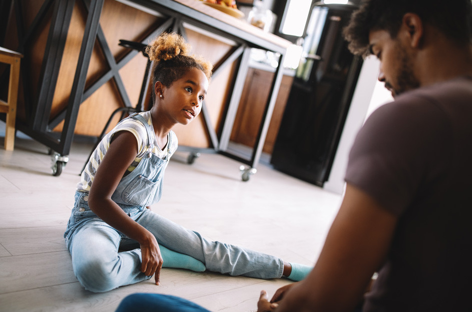 The American Academy of Pediatrics says parents can model positive messages and actions that young people need to thrive