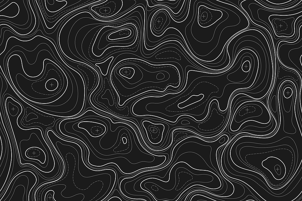 map topography background