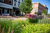 main street buildings and landscaping in sturgis michigan
