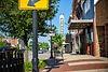 sturgis michigan downtown view from sidewalk