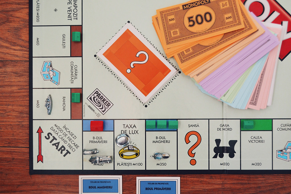 image of the corner of a monopoly board