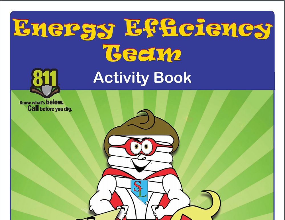cover of energy efficiency team activity book