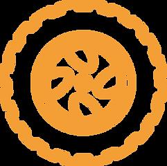 Off-road tire icon