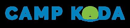 Camp Koda Logo pantone blue_Koda horiz 2
