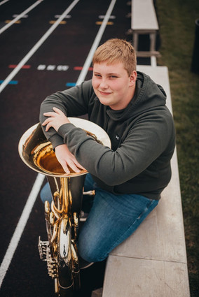 Nathan Pagels Awarded First Ellen Eisele Memorial Scholarship
